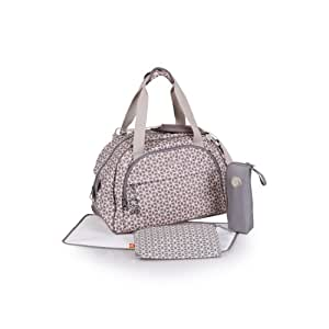 buy okiedog shuttle diaper bag khanda taupe online at low. Black Bedroom Furniture Sets. Home Design Ideas