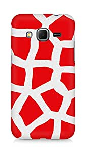 Amez designer printed 3d premium high quality back case cover for Samsung Galaxy Core Prime (Animalistic Pattern)