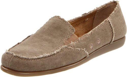 Aerosoles Women's So Soft Loafer,Mid Brown Fabric,8 M US