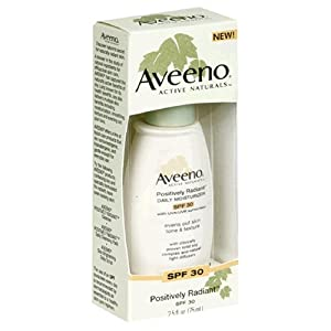 Aveeno Active Naturals Positively Radiant Daily Moisturizer SPF-30