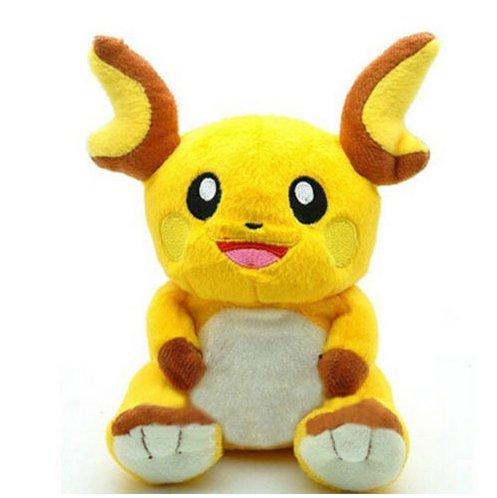 new-pokemon-raichu-18cm-collectible-plush-character-soft-toy-stuffed-doll-teddy-gift
