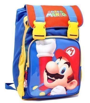 Zaino Scuola Estensibile Super Mario Kids