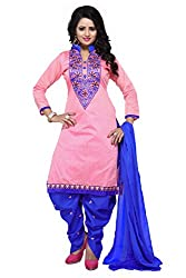Cotton Embroidery Patiala Salwar Suits(fr2300)