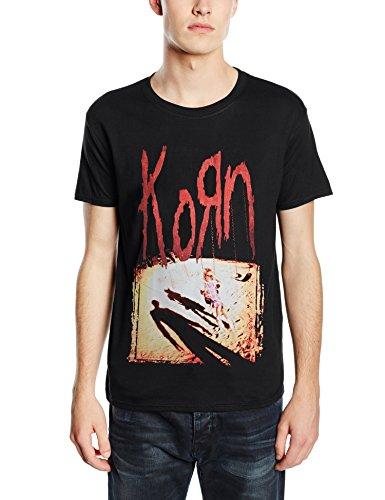 Plastic Head Korn Korn-T-shirt  Uomo    nero Medium