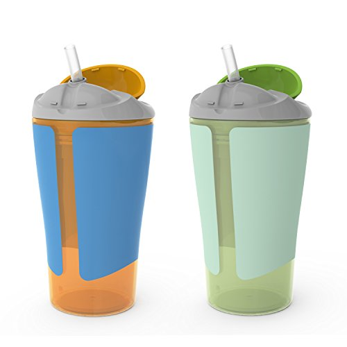BPA-Free Grow with Me 10 oz. Straw Cup, 2 Count - 1