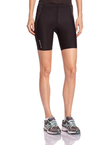Skins A400 Women's Compression Shorts black/silver (Size: MA) running pants
