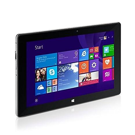 TrekStor 99743 SurfTab wintron 10.1 Volks-Tablet 25,6 cm (10,1'') Tablette Tactile (Intel Atom Z3735F, 1,8GHz, 2Go RAM, 32Go HDD, Win 8, Ecran tactile) Noir (Import Europe)