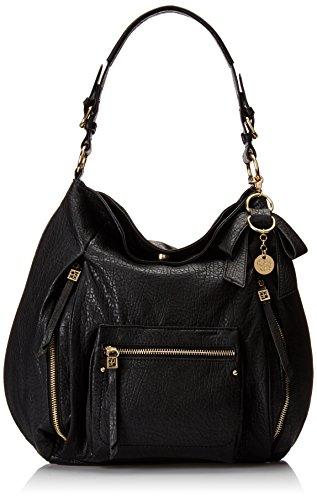 Jessica Simpson Alicia Hobo Shoulder Bag Black One Size