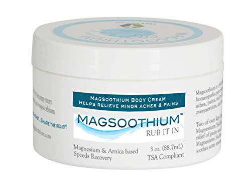 Pain Relief Cream with Magnesium and Arnica Homeopathic Extra Strength - 3oz