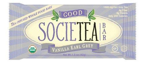 Good Societea: Vanilla Earl Grey Tea Bar 1.5 Oz (12 Pack)