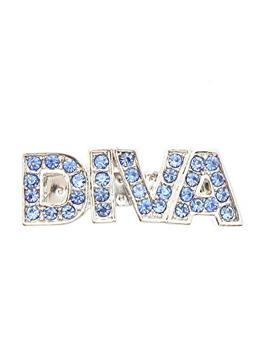 UrbanPup ''Diva'' Swarovski Hair Clip / Dog Barrette (Blue Crystals) (Swarovski Crystal Dog Hair Clips compare prices)
