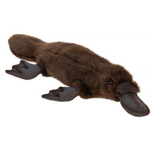 Set of 3 Lifelike Handcrafted Extra Soft Plush Platypus