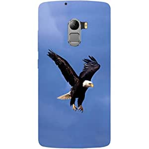 Casotec Eagle Design Hard Back Case Cover for Lenovo K4 Note