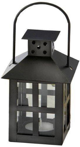 Kate Aspen 14048BK Luminous Mini Lantern, Black