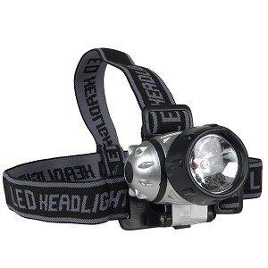 1-Krypton Bulb & 6-LED Adjustable Headlamp