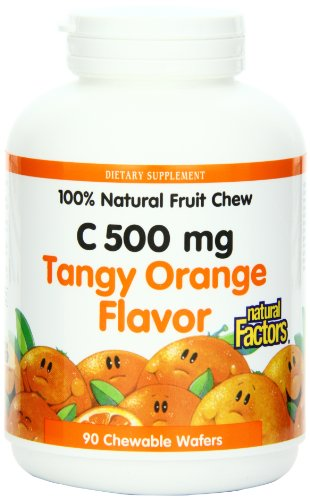 natural-factors-vitamin-c-500mg-100-natural-fruit-chew-tangy-orange-90-chewable-wafers