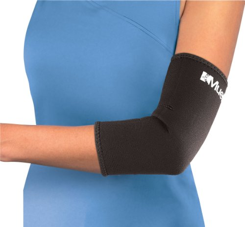 Mueller Elbow Sleeve Neoprene Black 0074676414041