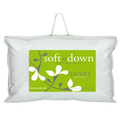 Duvet  &  Pillow Company Soft As Down Microfibre Duvet, All Seasons, Super King