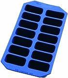 Lékué Gourmet - Cubitera rectangular, 14 cavidades, color azul