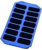 Lékué Gourmet Rectangular Ice Cube Tray, Blue