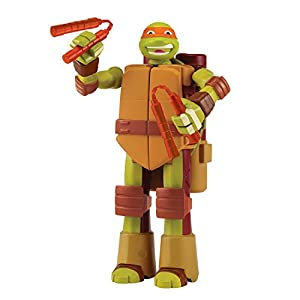 Teenage Mutant Ninja Turtles Turtle to Weapon Mike Mutations Deluxe Figures