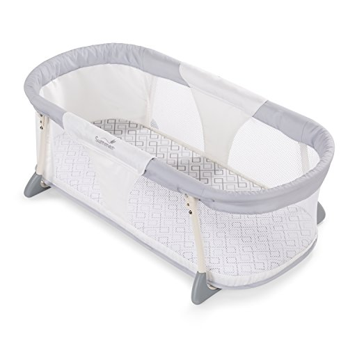 new summer baby infant bed bassinet by your side sleeper free shipping ebay. Black Bedroom Furniture Sets. Home Design Ideas