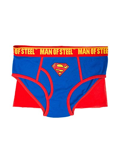 Superman Caped Brief For Men by Briefly Stated