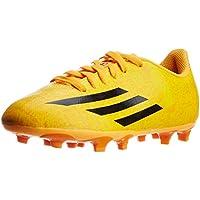 adidas Boy's F5 Fg J (Messi) Solar Gold and Black Sports Shoes - 12C UK