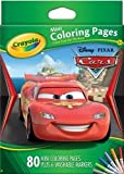 Crayola Coloring Pages Mini, Disney-pixar, Cars 80 CT (Pack of 4)