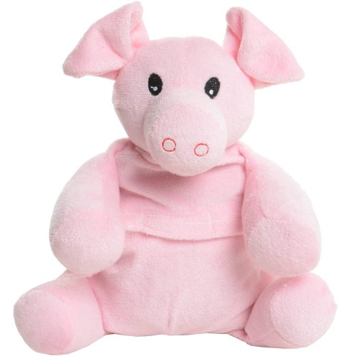Cuddle Ins Warm Hugs Pig With Microwavable Wheat And Lavender Seeds Cushion