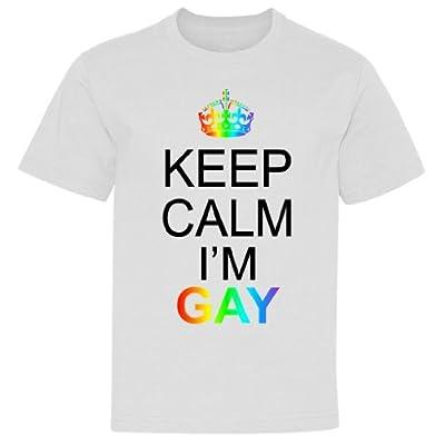 Keep Calm I'm Gay Youth T-Shirt