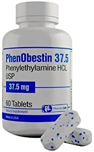 Phenobestin 37.5 Appetite Suppressant Weight Loss Fat