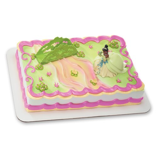 Decopac Princess and The Frog Tiana and Bridge DecoSet Cake Topper