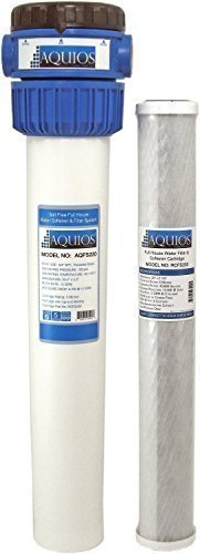 Aquios FS-220 Salt Free Water Softener and Filtration System, Blue (Pure Salt Water compare prices)