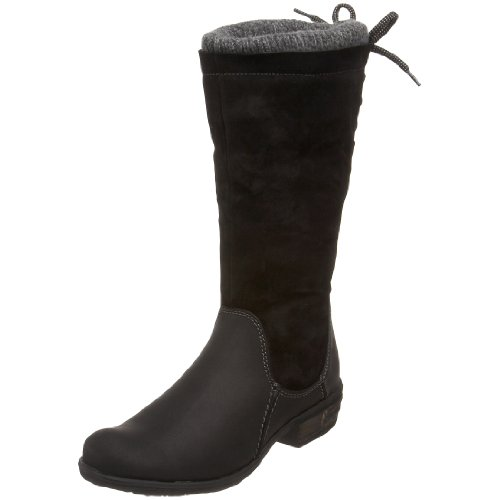 Bos & Co Women's Sweater Knee-High Boot,Black,38 M EU / 7 B(M)