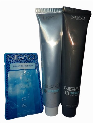 Nigao Japanese Ida Cyrstal System Hair Straightening Cream