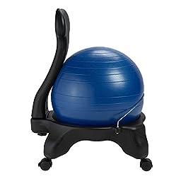 Gaiam Balance Ball Chair, Blue