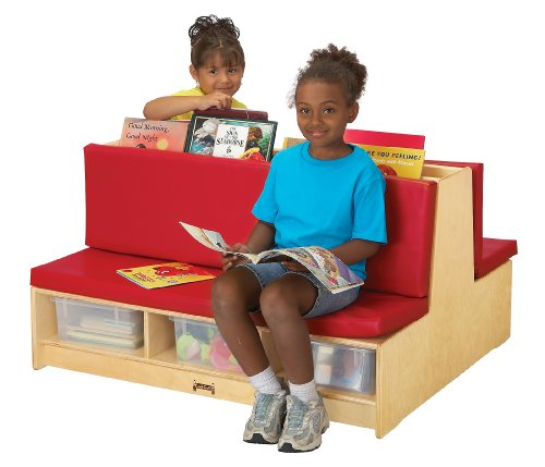Read-A-Round - Couch - Red - School & Play Furniture