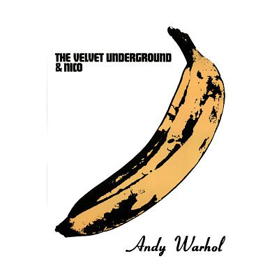 (24 x 36) Velvet Underground Banana Music-Poster con stampa di Andy Warhol