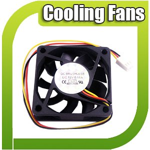 60mm PC Cooling Fan Cooler For System CPU Computer
