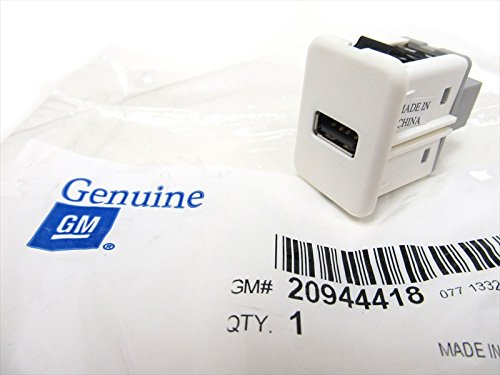 Genuine GM Receptacle Part# 20944418 (Silverado Usb compare prices)