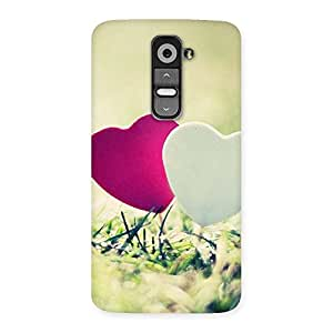 Special Couple Heart Back Case Cover for LG G2
