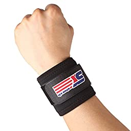 SX PerfectFit Wrist Support Wrap-Black