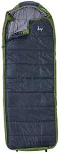 Slumberjack Esplanade Oversized 20 Degree Hooded Sleeping Bag Regular by Slumberjack