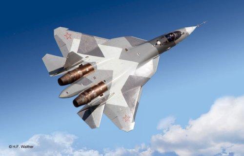 Revell-04664-Sukhoi-T-50-im-Mastab-172