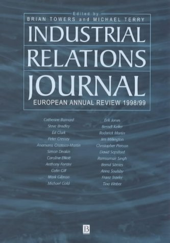 Industrial Relations Journal European Annual Review 1998/1999