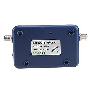 AGPtek Good For Campers Digital Satellite Signal Meter Finder Meter For Dish Network Directv FTA LCD Graphic Display Backlight Compass Buzzer Control (Tamaño: LCD2)