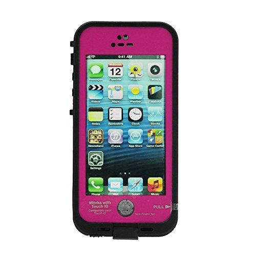 Sakura Favour store iphone5s ケース 防水 防塵 耐衝撃 指紋認証 指紋認証対応 lifeproof 指紋 衝撃 iphone5 ケース 防水 防塵 耐衝撃 ライフ バイク 衝撃 白 ストラップ iphone5s カバー 防水