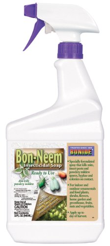 12 each: Bonide Bon-Neem Ready To Use Insecticidal Soap (025)12 each: Bonide Bon-Neem Ready To Use Insecticidal Soap (025)