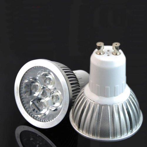 Rextin Gu10 12W 85V-250V High Power 4X3W White / Warm White Led Spot Light Bulb Lamp G12